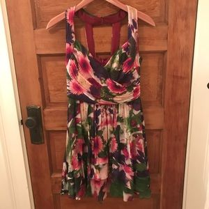 Nicole Miller floral dress